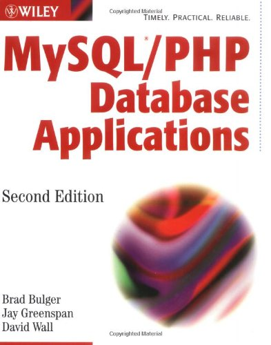 MySQL PHP Database Applications