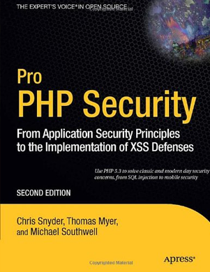 PHP Security Guide