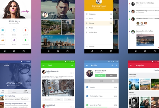Free Android UI Kit