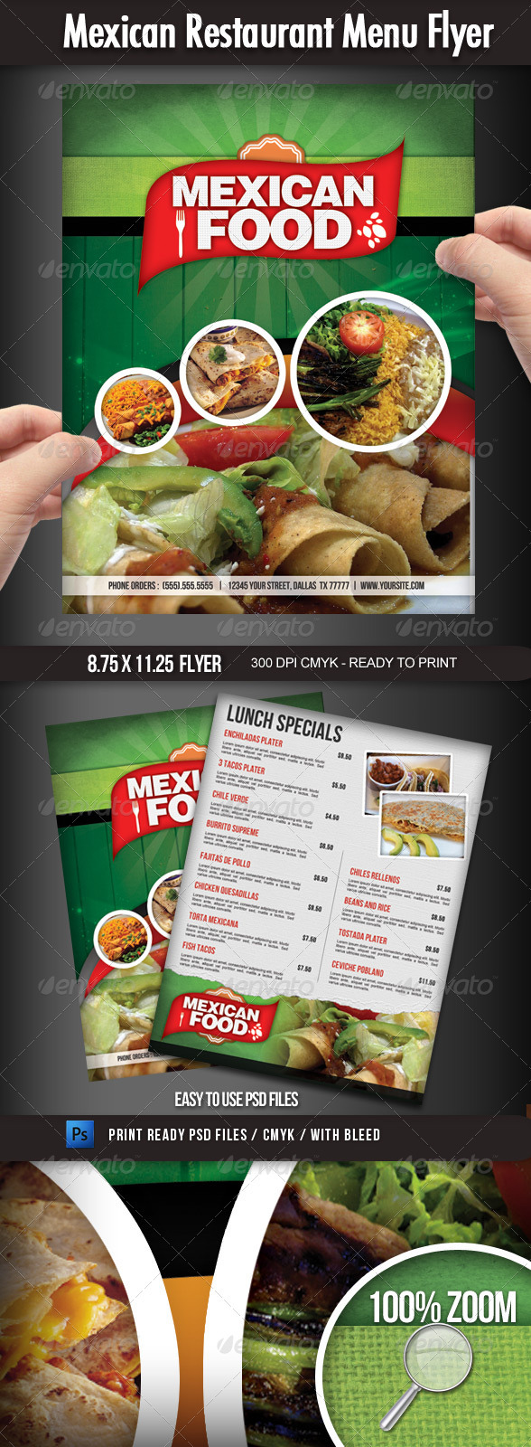 60 premium restaurant menu templates dzineflip for Resturant menu templates