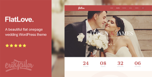 55+ Best Responsive WordPress Wedding Themes 2015