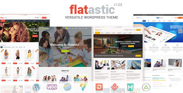 Flatastic – Versatile WordPress Theme