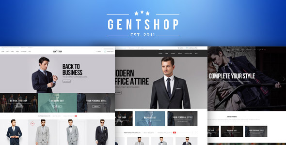GentShop – LookBook WooCommerce WordPress Theme