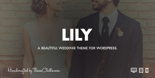Lily - WordPress Wedding Theme