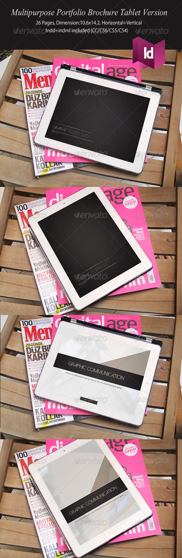 Multipurpose Portfolio Brochure Tablet Version
