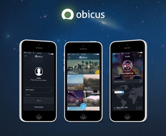 Obicus Mobile UI Kit