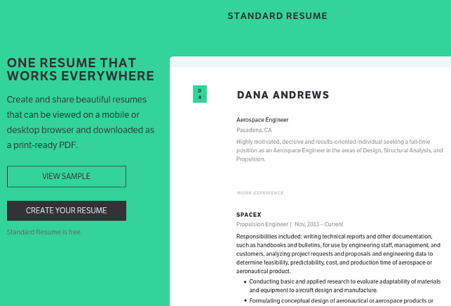 10 Best Online Resume Tools - DzineFlip