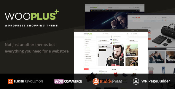 WooPlus – WordPress Shopping Theme for WooCommerce