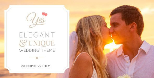 Yes - Ultimate Responsive OnePage Wedding Theme