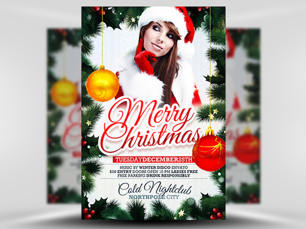 Free Xmas Flyer Template