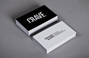 35 Clean and White Business Card Designs for Your Inspiration