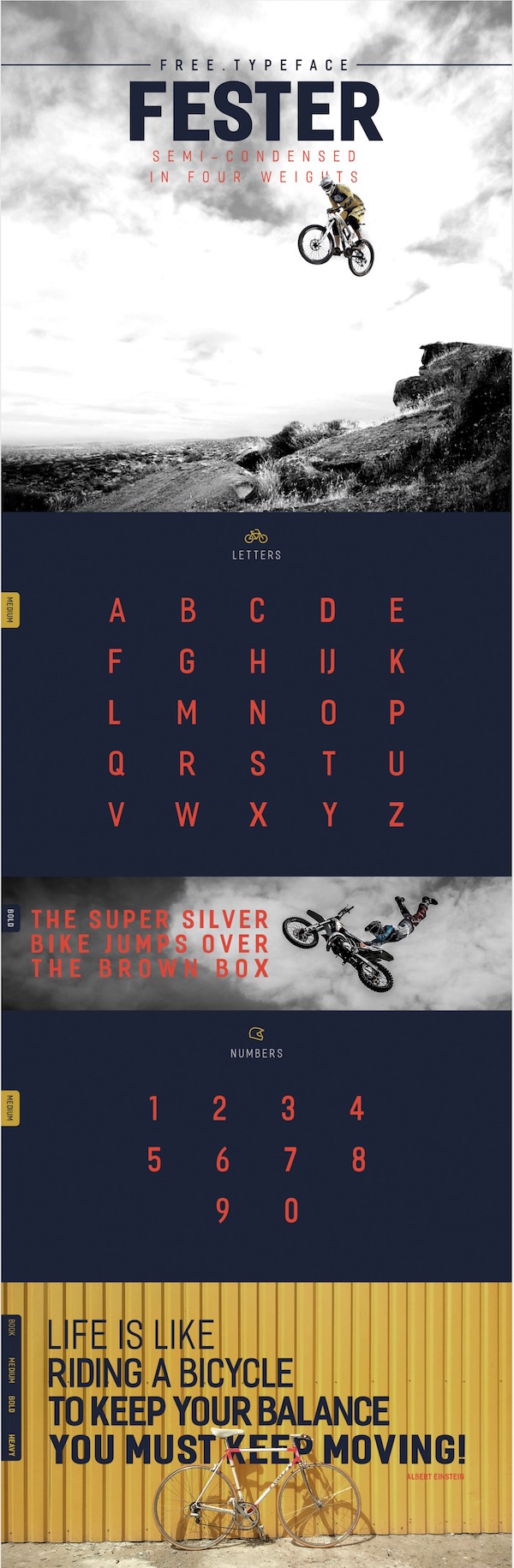 Fester – Free Typeface