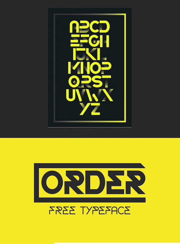 Order Typeface