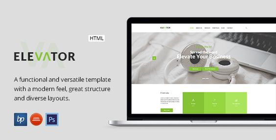 Elevator - Responsive Business HTML5 Template