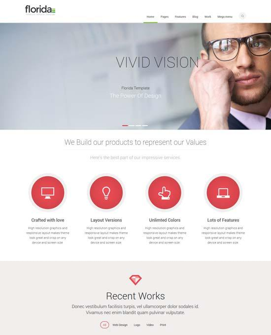 Florida – Premium Business Responsive Template
