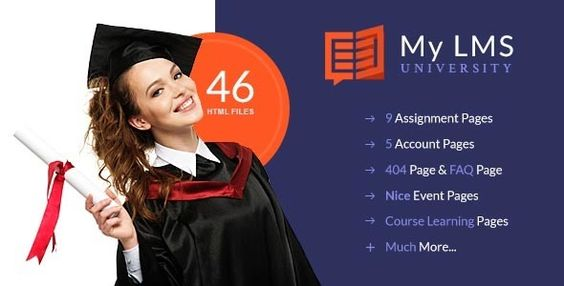 My LMS - Education and Campus Responsive HTML5 Template