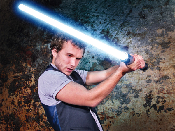 How to make a Star Wars lightsaber in Photoshop