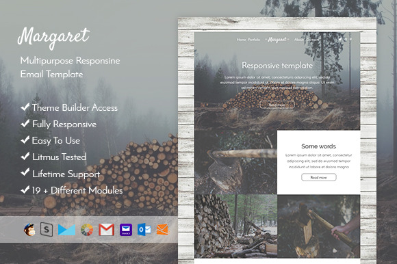 Margaret-Responsive Mail