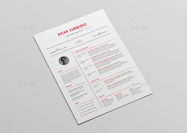 Simple Resume Set