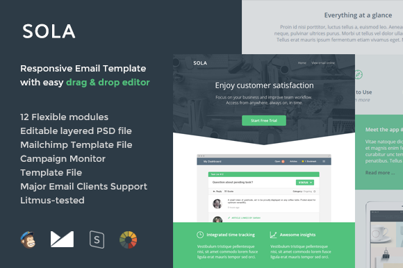Sola Email Template