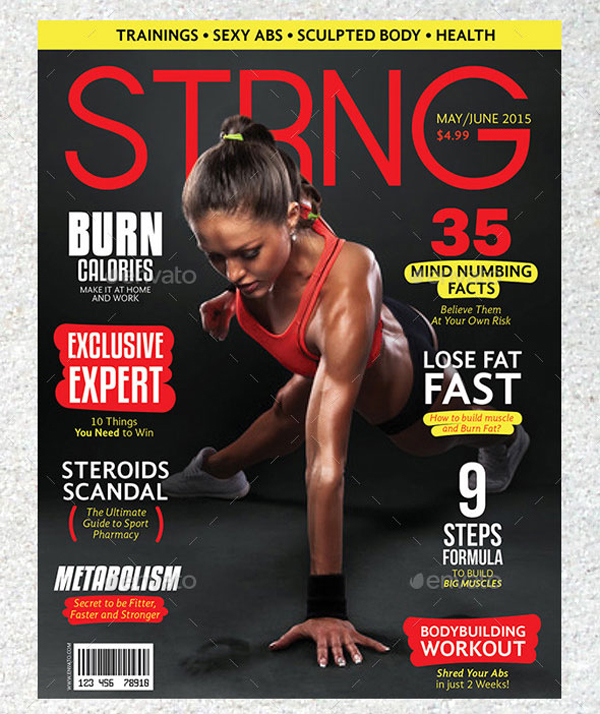 Strng Fitness Magazine Cover