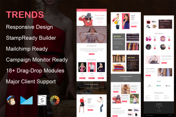 Trends – Responsive Email Template