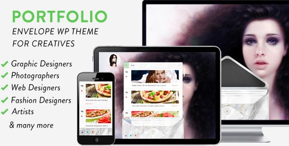 Envelope Portfolio WordPress Theme for Creatives