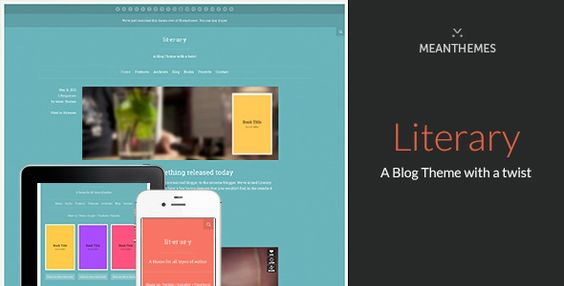Literary - A WordPress Blog Theme With A Twist