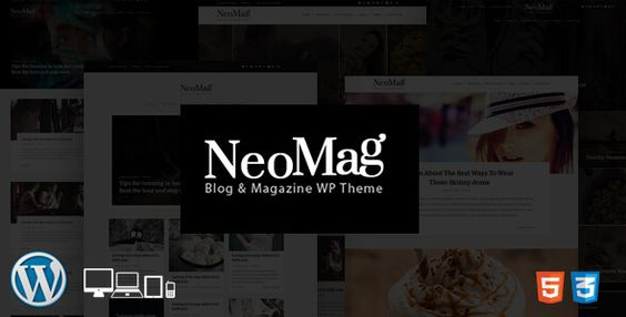 NeoMag - Responsive Blog & Magazine WordPress Theme