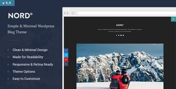 Nord - Simple & Minimal Readable Blog Theme