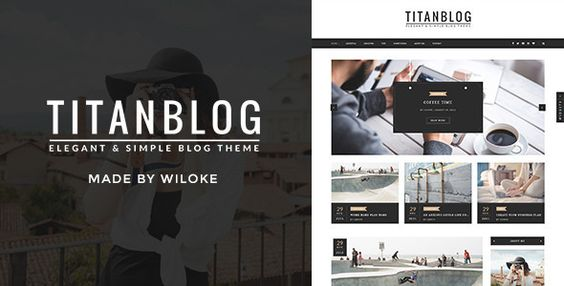 Titan - An Elegant WordPress Blog Theme