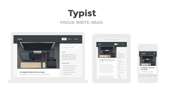 Typist - WordPress Theme for Serious Writers