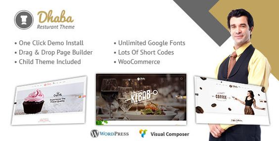 Dhaba - Restaurant, Coffee and Cake Shop WordPress Theme
