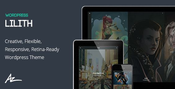 Lilith - Creative & Shop WordPress Theme