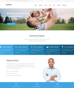 16+ Best Insurance Company Responsive WordPress Themes