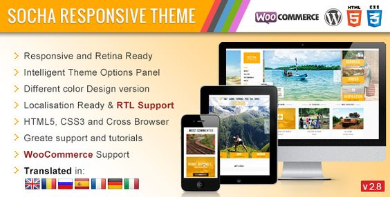 Socha Responsive WordPress Theme