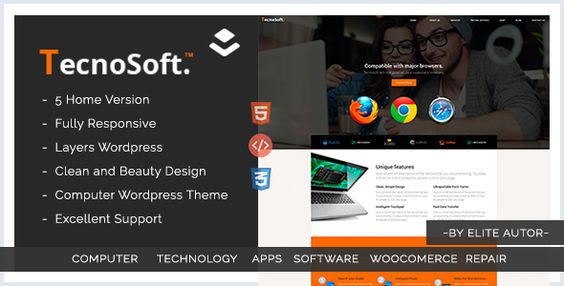 Computer Repair, Technology WordPress theme - Tecnosoft