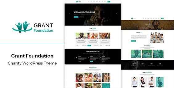 Grant - Responsive Charity WordPress Theme