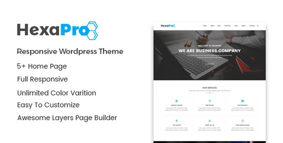 Hexapro – Corporate WordPress Theme