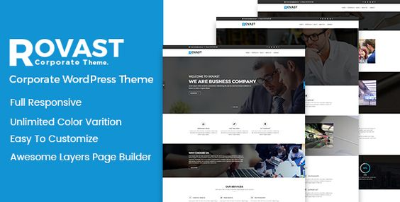Rovast - Multipurpose WordPress Theme