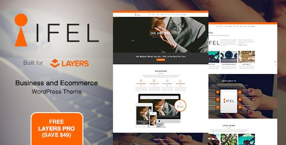 IFEL- Business - Ecommerce WordPress theme