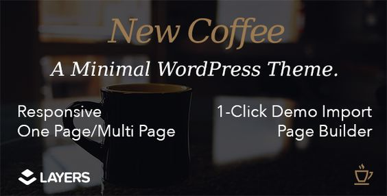 New Coffee - Responsive Layers WordPress Theme