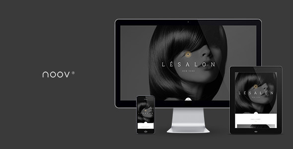 LeSalon Beauty Salon Muse Template