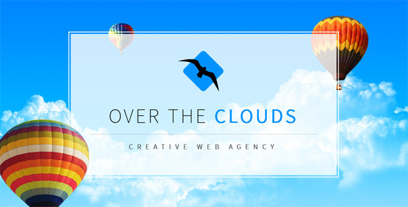 Over The Clouds One Page Muse Template