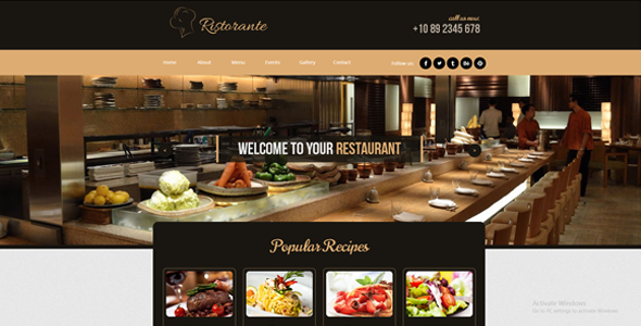 Restaurant / Caffee / Bar / Pub Template