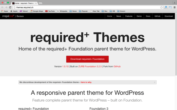 Themes required+
