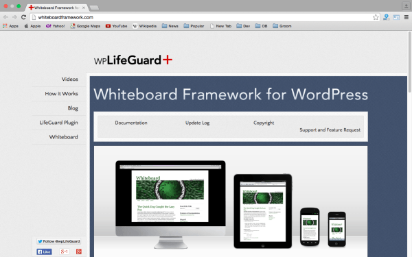 White Board Framework