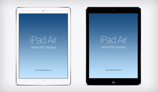 IPad Air PSD Mockup