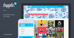 30+ High Quality Premium Responsive Tumblr Themes