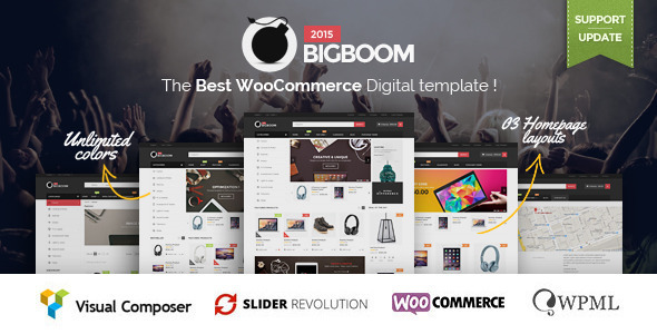Bigboom – Responsive Ecommerce WordPress Theme